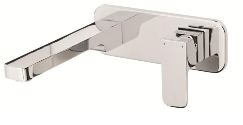 Cara Wall Basin Mixer With 220mm Outlet