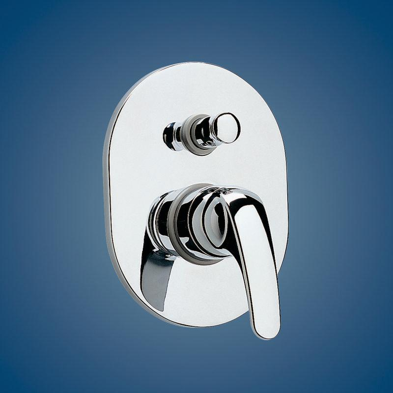 Irwell Tasman Bathroom Bath/Shower Mixer With Diverter Chrome