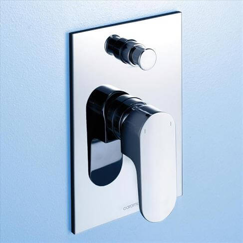 Caroma Track Bathroom Wall Bath Shower Mixer With Diverter