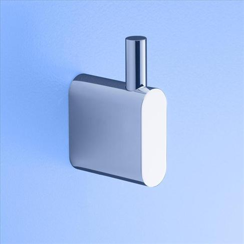 Caroma Track Single Robe Hook Chrome Bathroom Accessories