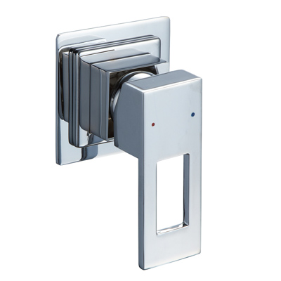 Caroma Quatro Bathroom Bath / Shower Mixer Square Loop Handle