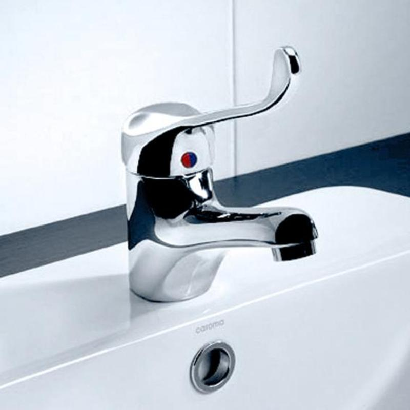 Caroma Acqua Care Wels Basin Mixer Tap Chrome