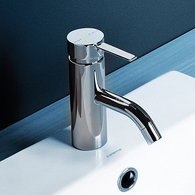 Caroma Liano Bathroom Basin Wels Mixer Tap Chrome