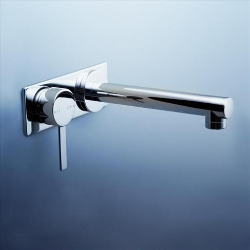 Caroma Liano Wall Bathroom Basin Wels Mixer Tap Chrome