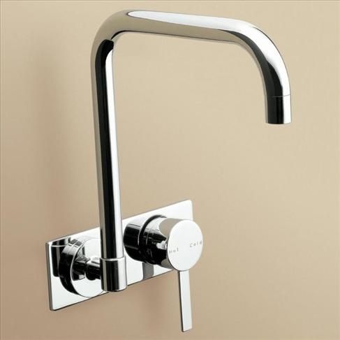 Caroma Liano Kitchen Laundry Wall Wels Sink Mixer Tap Chrome