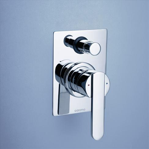 Caroma Saracom Bathroom Wall Bath / Shower Mixer With Diverter