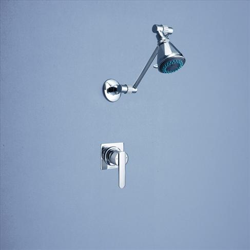 Caroma Saracom Bathroom Wall Shower Wels Mixer Set Chrome