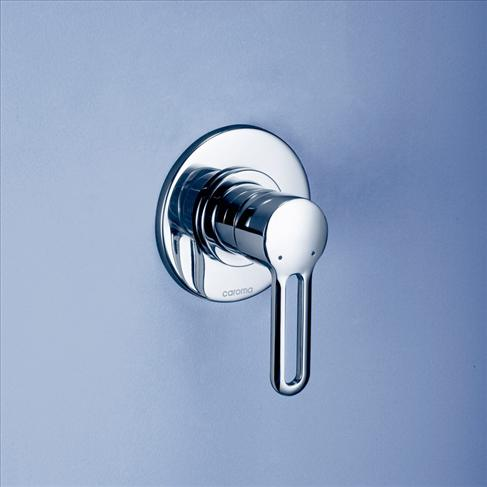 Caroma Cirrus Bathroom Wall Bath / Shower Mixer Round