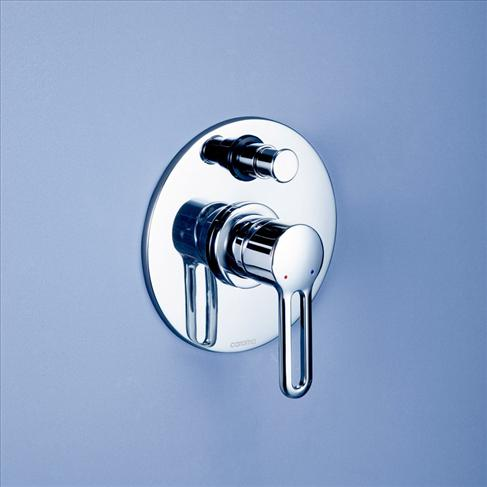 Caroma Cirrus Bathroom Wall Bath / Shower Mixer With Diverter