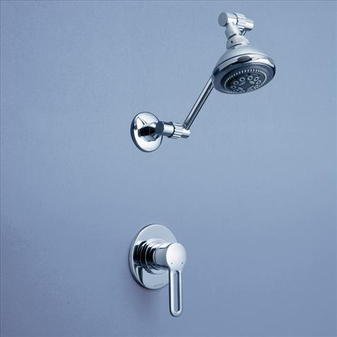Caroma Cirrus Bathroom Wall Shower Wels Mixer Set