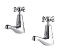 Bastow Federation Pillar Taps Tapware Set - Pair
