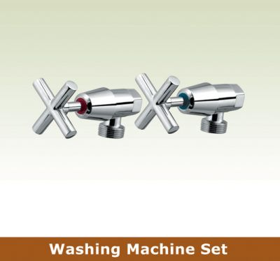 OS OSR-GWEN Laundry Washing Machine Wall Taps Set Chrome