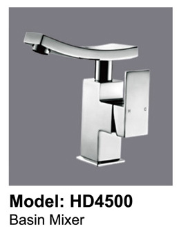Sunny Square Bathroom Basin Mixer Wels Tap Faucet Chrome