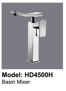 Sunny Square Bathroom Basin Wels Mixer Tap Faucet Chrome