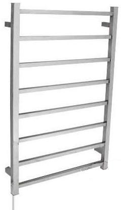 OS Bathroom Heated Towel Rail HT-8S Square 8 Bars