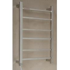 Rossto Bathroom Wall Heated Towel Rail 6 Square Rail - HTR-S4