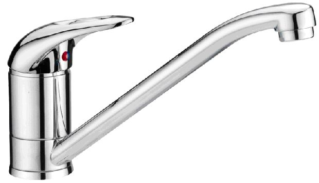 OS Kitchen Laundry Sink Mixer Wels Tap Faucet Chrome Round
