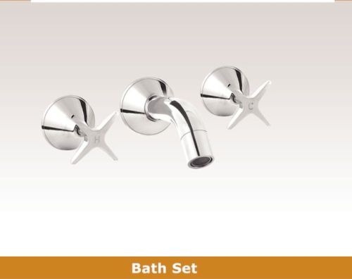 OS OSR-LYN Bathroom Wall Bath 3 Piece Tapware Set