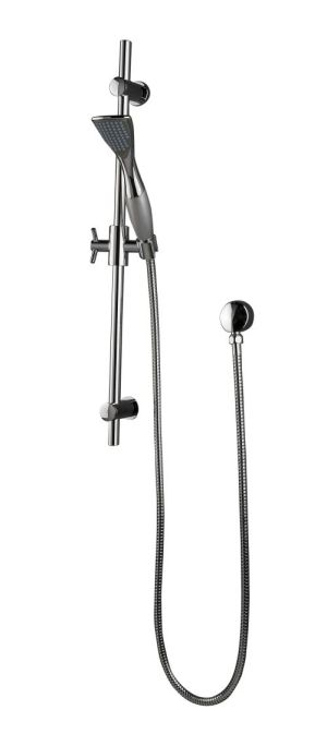 OS Bathroom Wall Hand Shower Rail Wels Chrome 1 Function