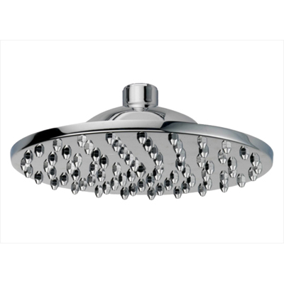 OS Round Bathroom Shower Head Wels Chrome Finish - 200mm