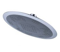 OS Bathroom Round Shower Head Wels Chrome Finish 200mm