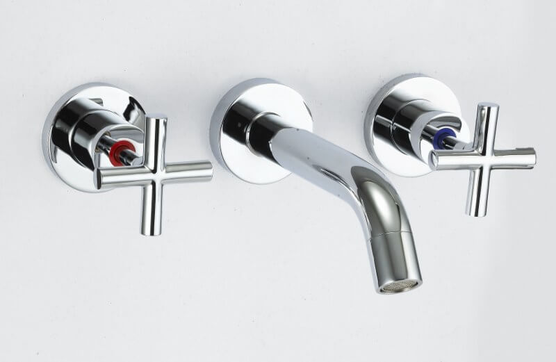 Rossto Imola Bathroom 3 Piece Bath Set Tapware Chrome
