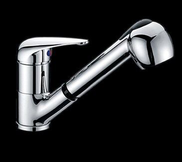 Rossto Pull Out Kitchen Laundry Wels Sink Mixer Tap Faucet Chrome
