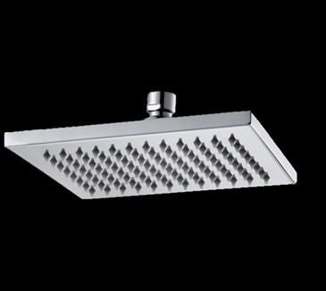 Rossto Square Bathroom Brass Rain Shower Head 152mm