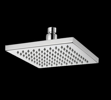 Rossto Bathroom Square Brass Rain Shower Head 200mm