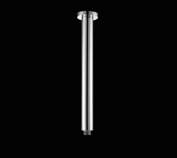 Rossto Round Bathroom Vertical Chrome Shower Arm 300mm