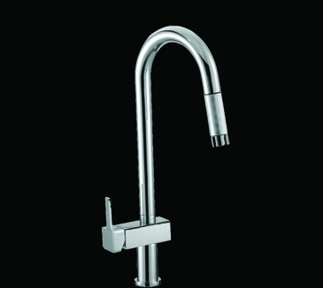 Rossto Kitchen Laundry Pull Out Wels Sink Mixer Tap Faucet Chrome