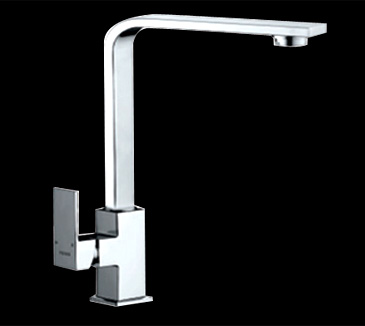 Rossto Square Kitchen Laundry Wels Sink Mixer Tap Chrome