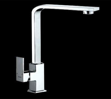 Linea Square Kitchen Laundry Sink Mixer Wels Tap Faucet Chrome