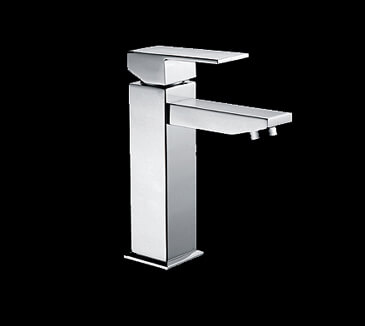 Rossto Linea Bathroom Vanity Wels Basin Mixer Tap Square Chrome