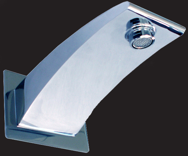 Rossto Imola Bathroom Square Wall Bath Spout Square