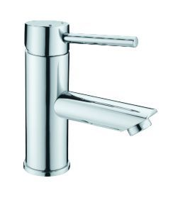 OS LYN Bathroom Basin Wels Mixer Tap Faucet Chrome Round