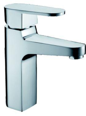 OS Square Bathroom Basin Mixer Wels Tap Faucet Chrome