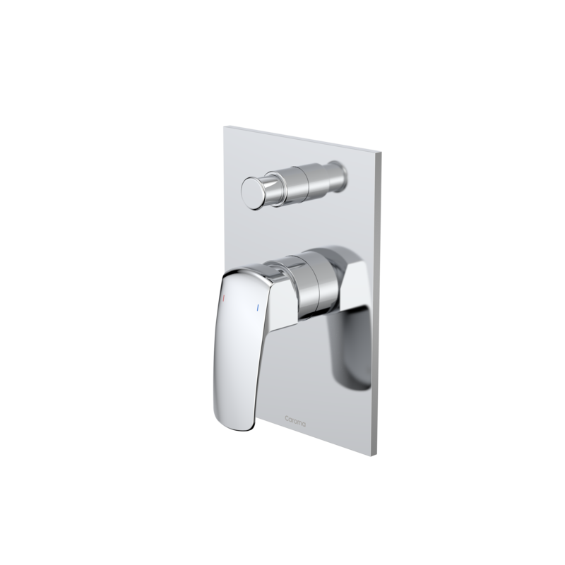 Pillar Bath / Shower Mixer with Diverter