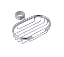 OS Bathroom Wall Hand Shower Rail Wels Curved Chrome