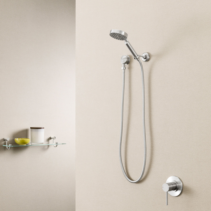 Titan Stainless Steel Hand Shower (Round Hand Piece)