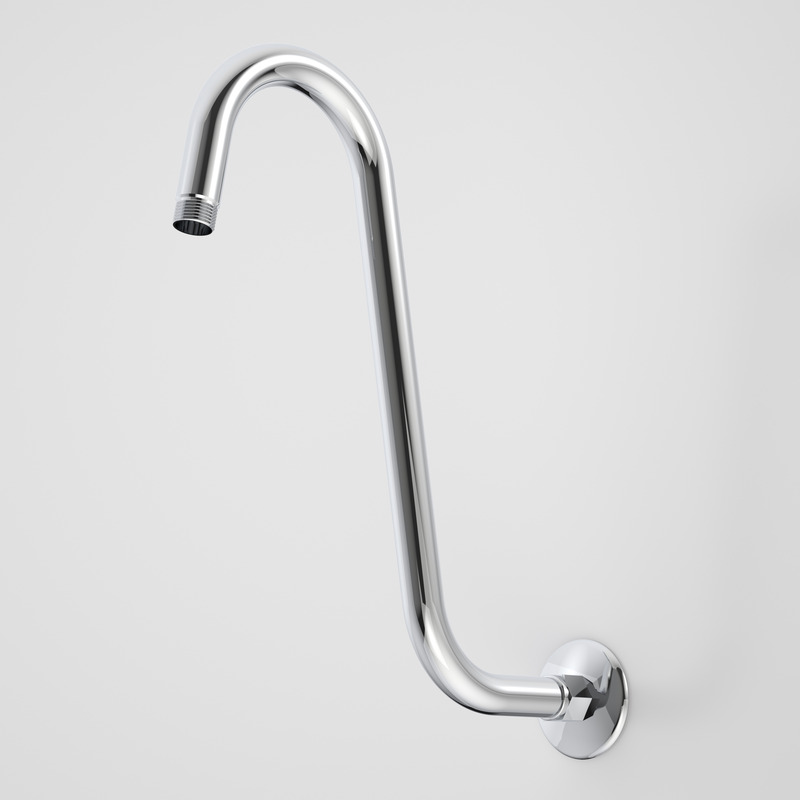 """S"" Style Shower Arm And Flange"