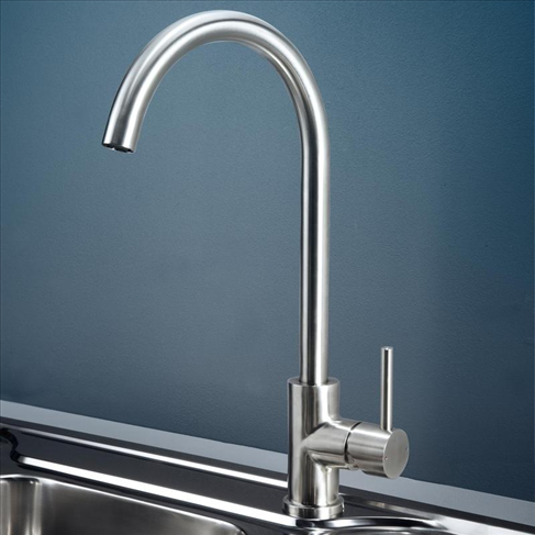 Caroma Titan Kitchen Laundry Sink Mixer Stainless Steel Wels