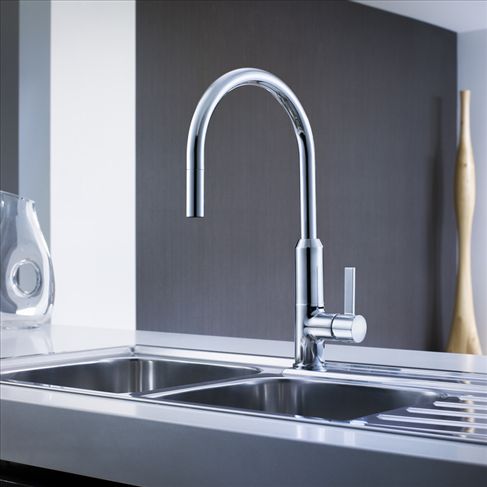 Vixen Retractable Sink Mixer
