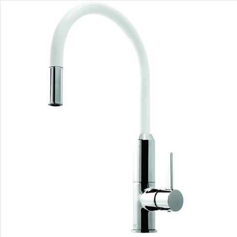 Vixen Retractable Sink Mixer White